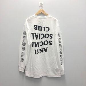 Anti Social Social Club Long Sleeve Shirt Size XL